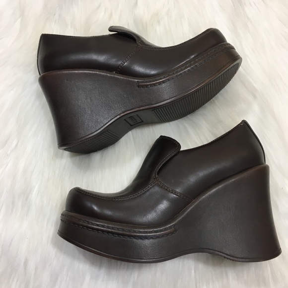 893a3203f22 Candie s Shoes - Vintage Candies Brown Platform Loafers